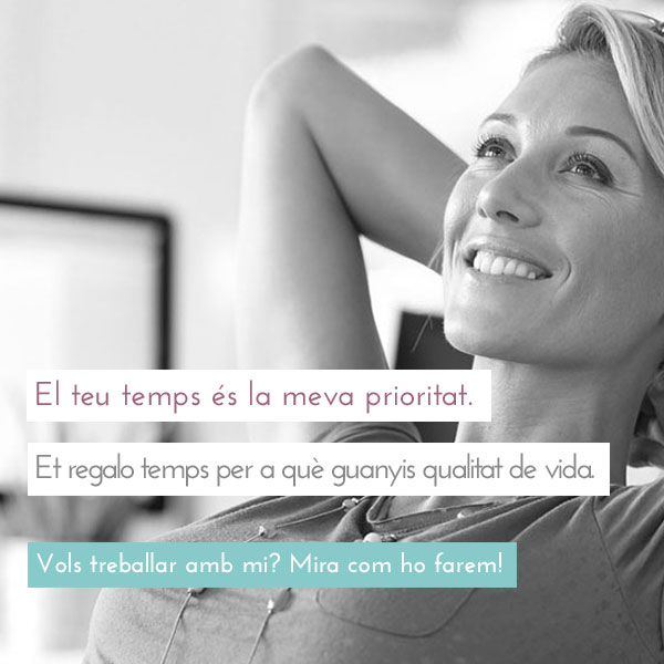 Treballa amb Elisa Cabezas, assitent virtual de direcció