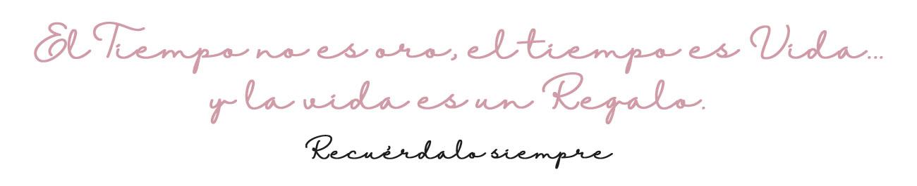 Elisa Cabezas, el tiempo es vida.