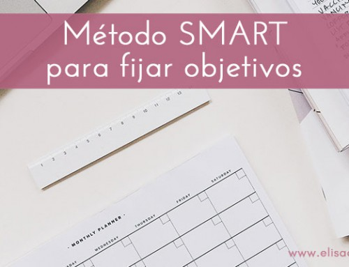 Cómo fijar objetivos SMART