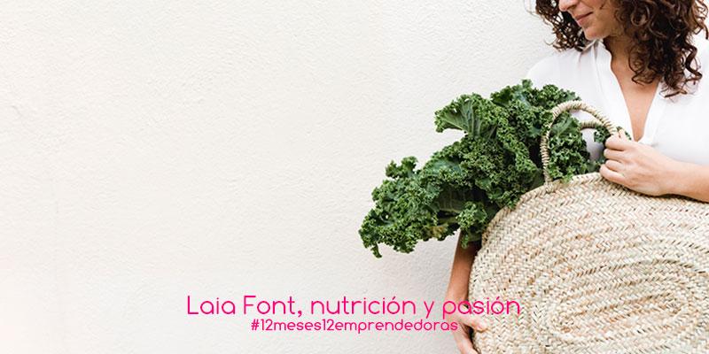 Laia Font, nutrición y pasión