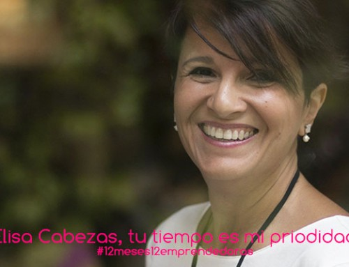 Elisa Cabezas, tu tiempo es mi prioridad