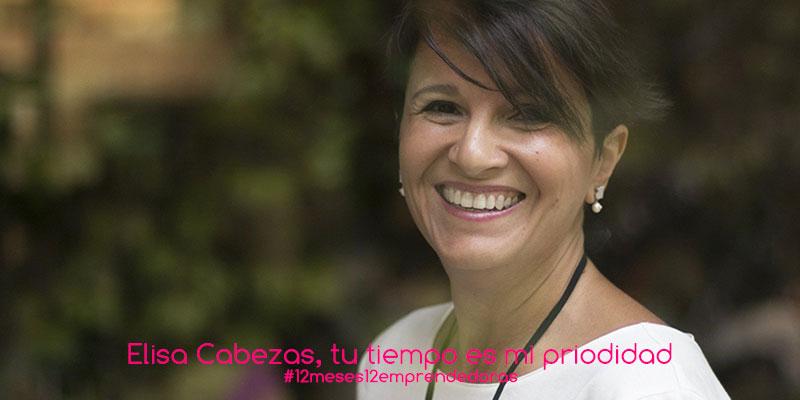 Elisa Cabezas, gestión del tiempo
